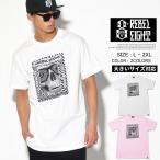 REBEL8 Tシャツ メンズ 半袖 おしゃれ ブランド 大きいサイズ スカル プリント 110010171