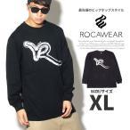 ロカウェア Tシャツ メンズ 長袖 ロンT ROCAWEAR RW173T12 大きいサイズ 2017秋冬 新作