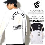 ロカウェア Tシャツ メンズ 長袖 ロンT ROCAWEAR RW173T24 大きいサイズ 2017秋冬 新作