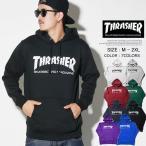スラッシャー パーカー メンズ THRASHER プルオーバーパーカー TH8501 マガジンロゴ ストリート系 スケーター ファッション