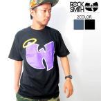 ROCK SMITH WU-TANG ロックスミス ウータン コラボ Tシャツ 半袖 B系 ファッション ストリート系 大きいサイズ