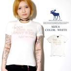 アバクロ Tシャツ レディース 半袖 Abercrombie&Fitch US買い付けモデル 正規品 A&F レディース