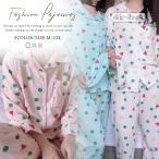 ルームウエア レディース 浴衣 和装 パジャマ 部屋着 ナイトウェア 韓国ファション 長袖 寝巻き 上下3点セット 水玉 可愛い
