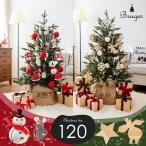 クリスマスツリー 120cm 樅 北欧  おしゃれ led オーナメント 飾り セット 鉢カバー付 ブルージュ クリスマス 子供部屋