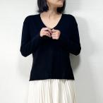 セーター レディース シンプル 無地 サイズ豊富 薄手セーター 通勤 Vネック 長袖 大きいサイズ ホワイト ブラック パープル