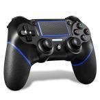 MAXKU PS4 コントローラー [2020 最新版] Bluetooth接続 HD振動 連射 ジャイロセンサー ゲームパット搭載 高耐久ボタン