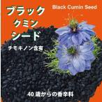 チモキノン含有 ブラック(クミン)シード 60g 自然栽培イラン産 2016年注目のウルトラフード