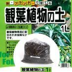 鉢・プランターで育てる 観葉植物の土 【小分け】 1L 元肥入り、pH調整済み