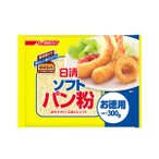 【キャッシュレス5%還元対象】 日清 ソフトパン粉 お徳用(300g)