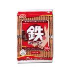【キャッシュレス5%還元対象】 ハマダコンフェクト 鉄プラスコラーゲンウエハース ココア味 40枚