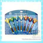 ザ・イヤー・オブ・ウィッシュ クリスタル デザイン ボールペン 7本セット 東京ディズニーシー15周年限定 グッズ お土産