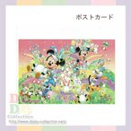 うさたま&ミッキーデザイン ポストカード ディズニー・イースター 2017年 東京ディズニーランド 限定 グッズ お土産