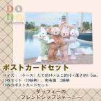 ダッフィーのフレンドシップジャーニー ポストカードセット 実写 東京ディズニーシー限定