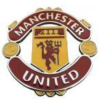 マンチェスター ユナイテッド Manchester United FC サッカー クラブチーム 金属 ステッカー エンブレム シール