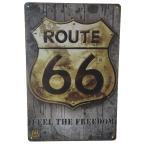 アメリカン 看板 ROUTE 66 ルート 66 アメリカ レトロ 雑貨 おしゃれ インテリア