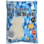 SALE シーズイシハラ ミュウサンド 固まる流せる白い紙製の砂 7L 【猫砂】