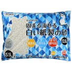 SALE シーズイシハラ ミュウサンド 固まる流せる白い紙製の砂 13.5L 【猫砂】