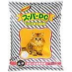スーパーキャット 固まる猫砂 スーパーDC 8L 【猫砂】