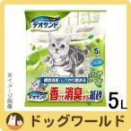 ユニチャーム デオサンド 香りで消臭する紙砂 ナチュラルグリーンの香り 5L 【猫砂】