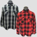 """AVIREX 長袖ネル・ブロックチェックワークシャツ """"AVIREX FLANNEL BROCK CHECK L/S SHIRTS"""""""