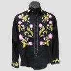 "Rock Mount 刺しゅうウエスタンシャツ""Embroidery Flower Western Shirts"""