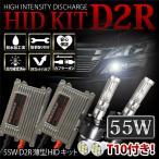 エクストレイルライダー 後期 H15.6〜H19.7 T30 ライダー ヘッド D2R HIDキット 55W 薄型