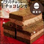 ギフト スイーツ プレゼント チョコレートケーキ バレンタイン 生チョコレンガ3個(card)(冷凍便)