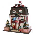 ビリーの手作りドールハウスキット クリスマスハウス