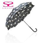 【SALE】サボイ SAVOY 31-6047 バルーンベアプリント 60cm ジャンプ傘 クマ くま柄 傘  ブラック