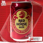 (海外ビール)サンミゲール レッド ホース 330ml缶(1ケース / 24本)(フィリピン ビール)