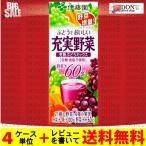 充実野菜 ブルーベリーミックス 紙パック 200ml ×24本