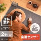 ホットカーペット 電気カーペット 2畳 省エネ フローリング 暖房器具
