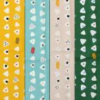 北欧 綿麻キャンバス 和モダン【おにぎり柄】 プリント 生地幅110cm※50cm以上、10cm単位での販売です。購入例【50cmの場合は数量5です】