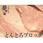 極上 霜降り 新潟 豚肉 夢味豚 トントロ 500g 予約販売