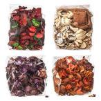 IKEA/イケア DOFTA:ポプリ 4種類(甘口のナチュラル、ピーチ&オレンジ、レッドガーデンベリー、ブラックベリー)