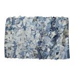トモコーポレーション リユース デニム マット ラグ 60×40cm 長方形 玄関マット バスマット インテリア雑貨 青 ブルー おしゃれ カジュアル メンズライク