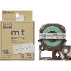 KINGJIM キングジム テプラPRO カートリッジ マスキングテープ mt 18mm SPJ18BB