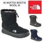 【送料無料】THE NORTH FACE ザ ノースフェイス NFW51786 W Nuptse Bootie Wool III ヌプシ ブーティー ウール ブーツ 撥水加工 保温 レディース 2017FW 正規品
