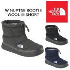 【送料無料】THE NORTH FACE ザ ノースフェイス NFW51787 W Nuptse Bootie Wool II Short ヌプシ ブーティー ウール ショート ブーツ レディース 2017FW 正規品