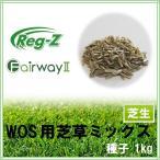 【ウィンターオーバーシード向け芝草ミックス】芝草種子 1kg 20〜33平米分