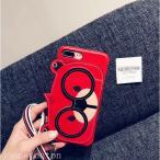ショッピングくま ストラップ iphone7 iphone7plus iphone8 iphone8plus スマホケース カワイイ クマ くまちゃん PUレザー カード入れ ストラップ付き  耐衝撃