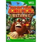 ドンキーコング リターンズ Wii ソフト RVL-P-SF8J / 中古 ゲーム