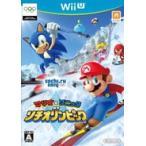 マリオ&ソニック AT ソチオリンピック 〔 WiiU ソフト 〕《 新品 ゲーム 》