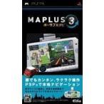 MAPLUS ポータブルナビ3 PSP ソフト ULJS-00199 / 中古 ゲーム