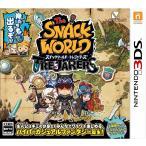 スナックワールド トレジャラーズ 3DS ソフト CTR-P-BWSJ / 中古 ゲーム
