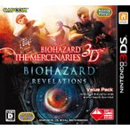 バイオハザード ザ マーセナリーズ 3D&リベレーションズ バリューパック 〔 3DS ソフト 〕《 中古 ゲーム 》