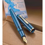 1200限定品ペリカン PELIKAN 万年筆 特別生産 クラシック M120 アイコニックブルーGT Classic M120 Iconi