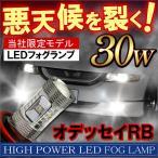 オデッセイRB LED フォグランプ H11 30W 2個 OSRAM