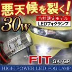 フィット GK LED フォグランプ H8 30W CREE製 OSRAM製
