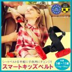 メテオAPAC スマートキッズベルト 正規品 道交法 B3033 Eマーク適合 2個セット シートベルト チャイルドシート ジュニア 幼児用 簡易型 便利グッズ